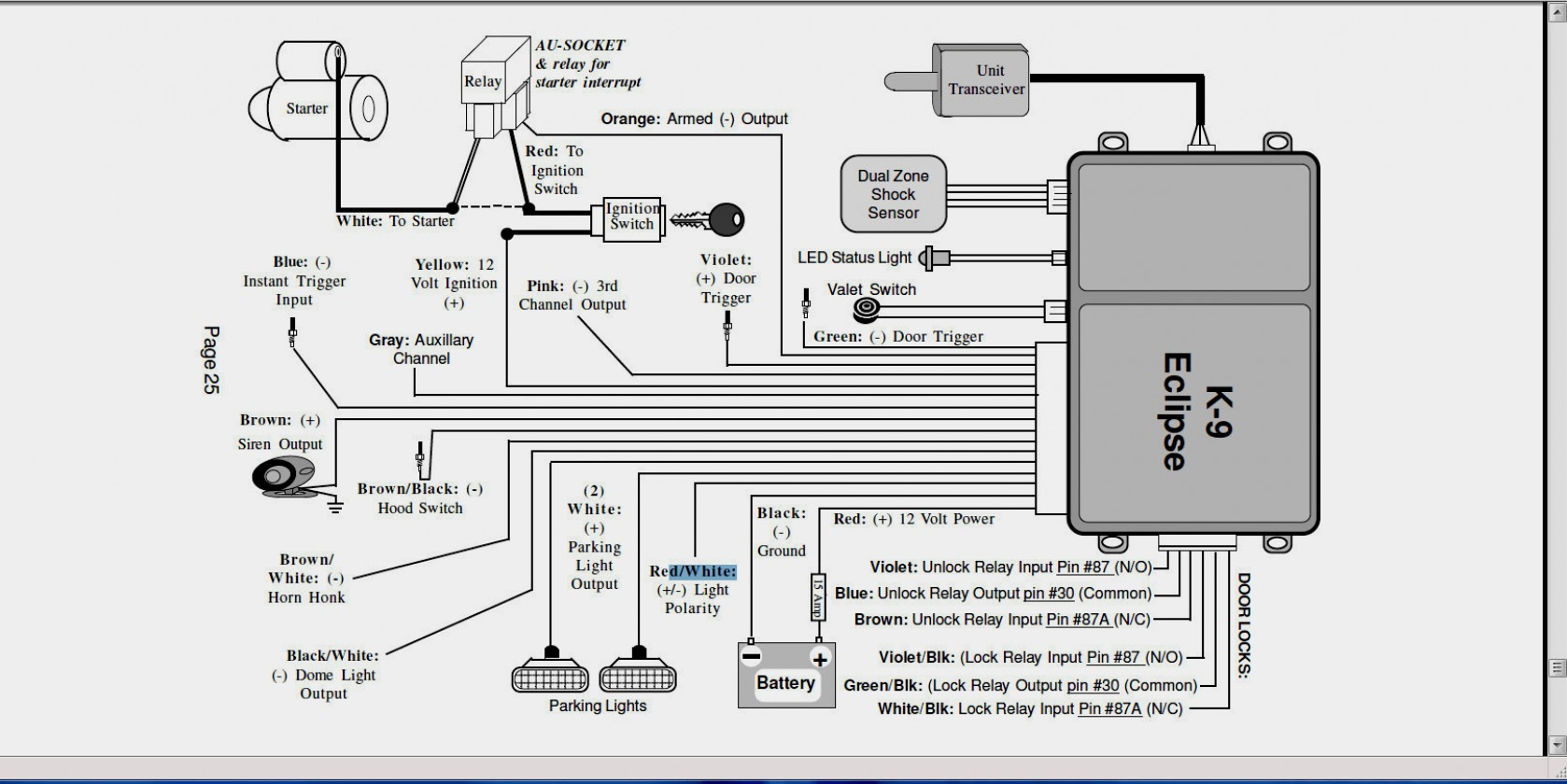 Compustar Wiring Diagram - Wiring Diagrams - Viper Remote Start Wiring Diagram