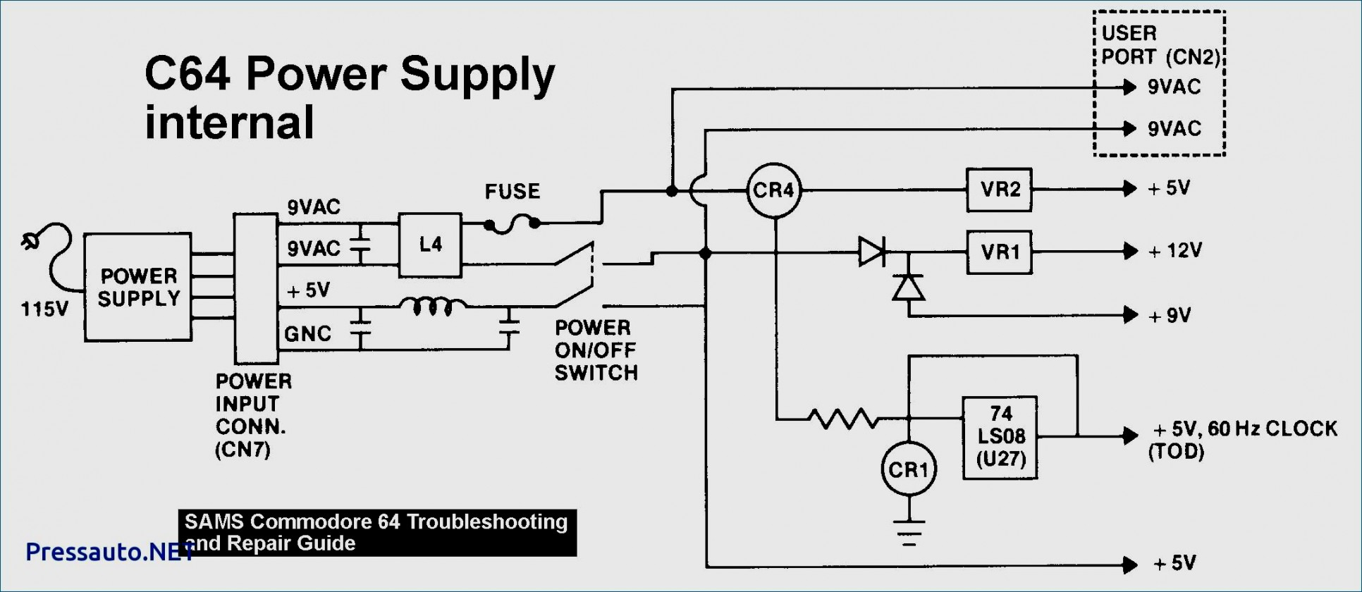 Computer Power Supply Wiring Schematic | Wiring Diagram - Computer Power Supply Wiring Diagram