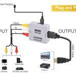 Connect Sega Mega Drive 2 To Smart Tv   Arqade   Hdmi To Rca Wiring Diagram