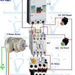 Contactor Wiring Guide For 3 Phase Motor With Circuit Breaker   3 Phase Contactor Wiring Diagram Start Stop