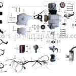 Coolster 110Cc Atv Parts Furthermore 110Cc Pit Bike Engine Diagram   Chinese Atv Wiring Diagram