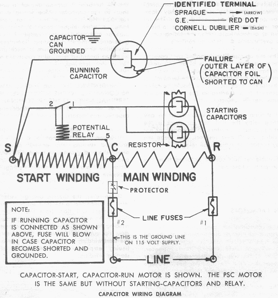 32 Copeland Potential Relay Wiring Diagram Wiring Diagram