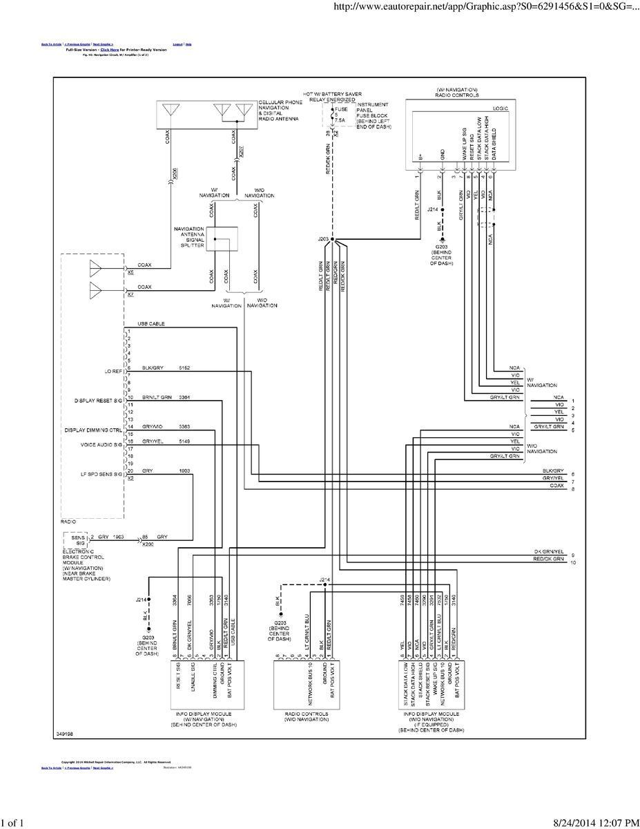 Cruze Wiring Diagrams - 2007 Tahoe Radio Wiring Diagram