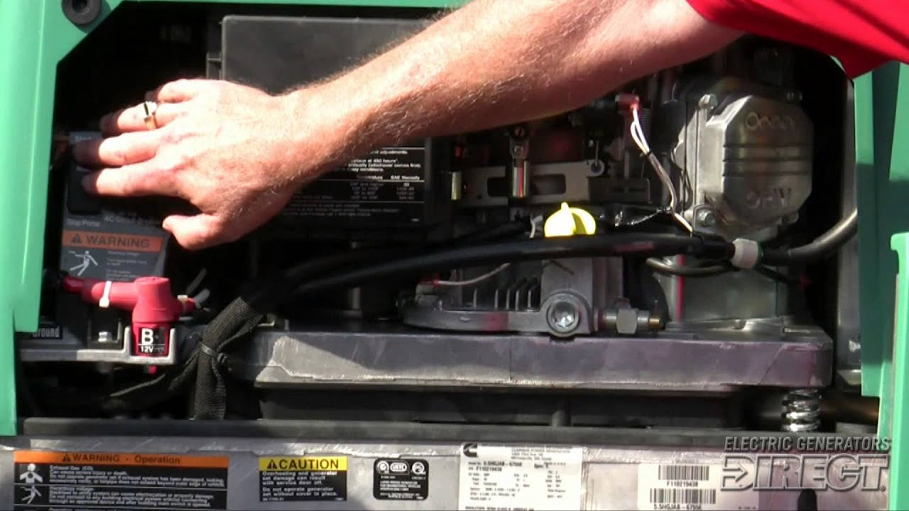 Cummins Onan Rv Generators - Featuring The Rv Qg 5500 Evap - Youtube - Onan Generator Remote Start Switch Wiring Diagram