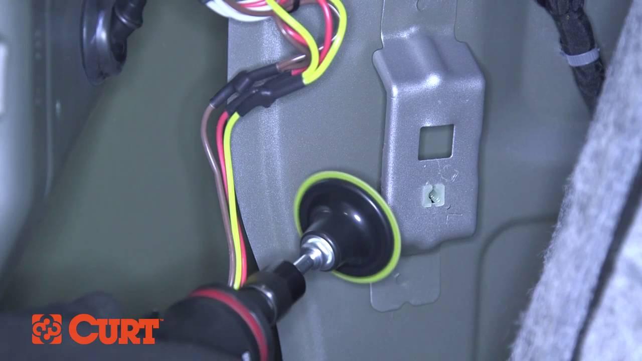 Curt 56011 Trailer Wiring Installation On A Mazda Cx-5 - Youtube - 5 Wire To 4 Wire Trailer Wiring Diagram