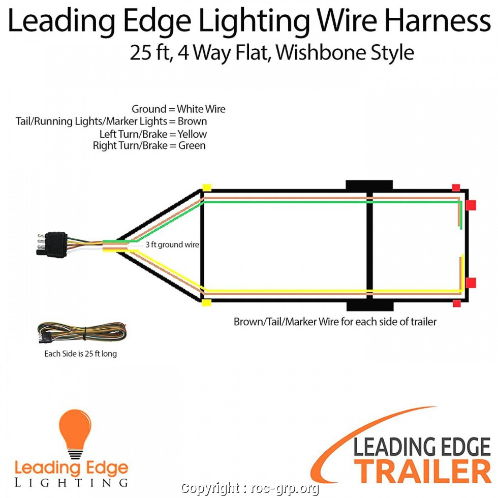 Four Wire Trailer Wiring Diagram from 2020cadillac.com