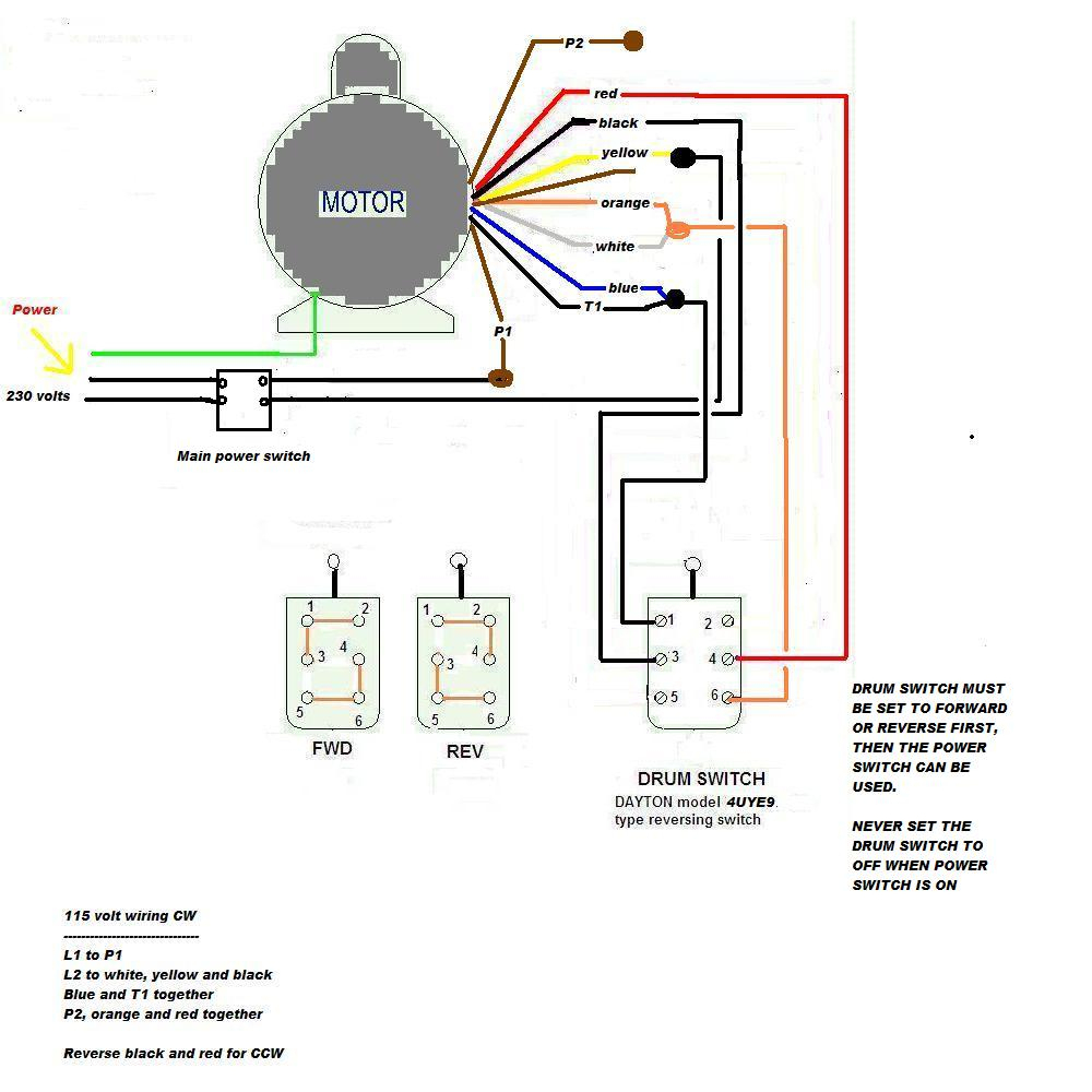 Dayton Electric Motors Wiring Diagram Download | Hastalavista - Dayton Electric Motors Wiring Diagram Download