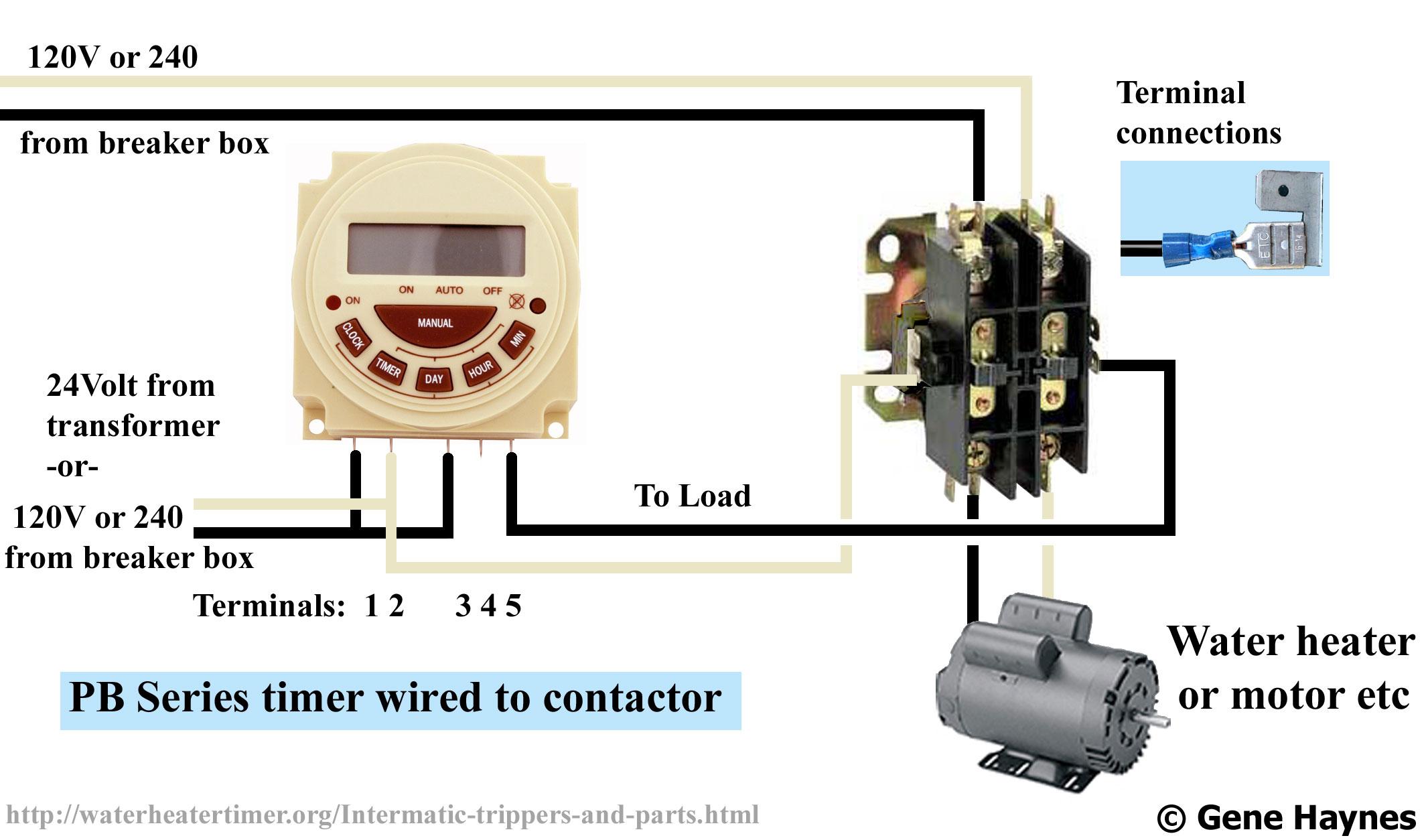 24V Transformer 120 To 24 Volt Transformer Wiring Diagram from 2020cadillac.com