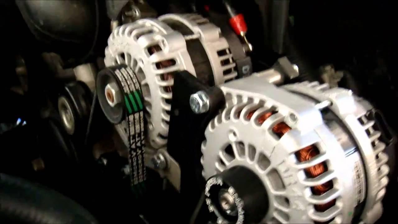 Dc Power Dual Alternator! - Youtube - Dual Alternator Wiring Diagram