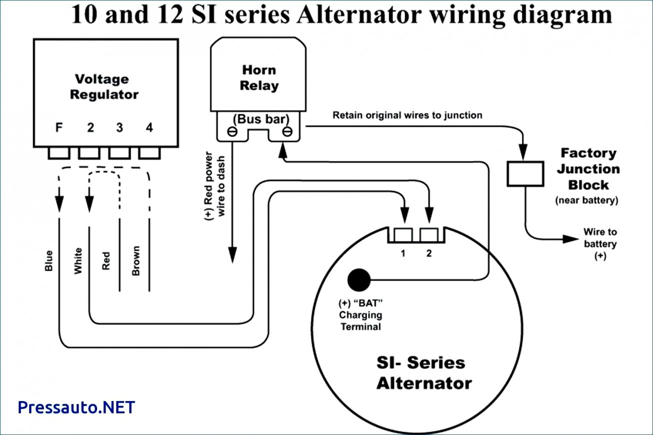 Delco Cs130D Wiring - Today Wiring Diagram - Delco 10Si Alternator Wiring Diagram