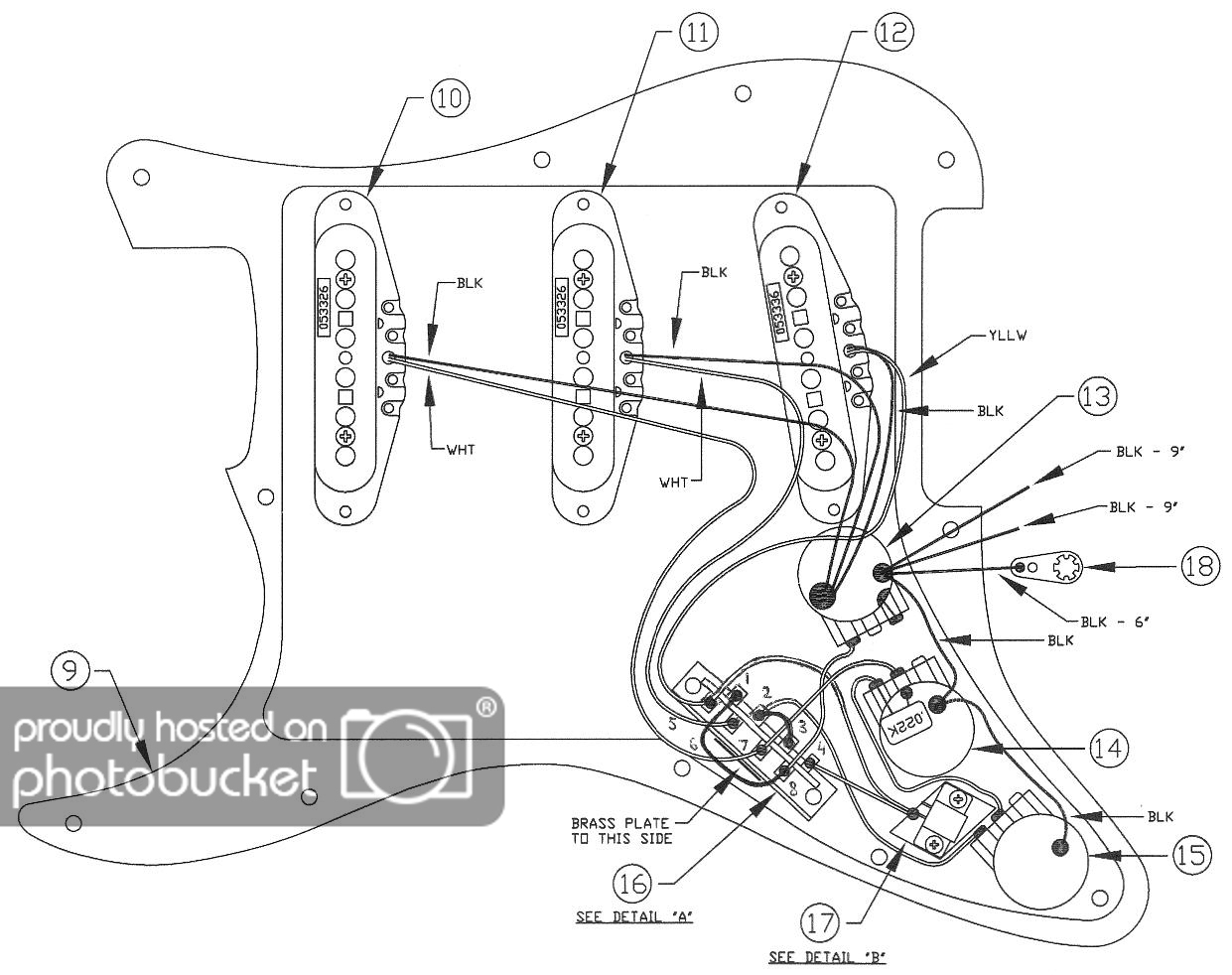 Deluxe Player Strat - Wiring ? | The Gear Page - Fender Strat Wiring Diagram