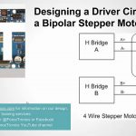 Designing A Driver Circuit For A Bipolar Stepper Motor Part 2   Youtube   Stepper Motor Wiring Diagram