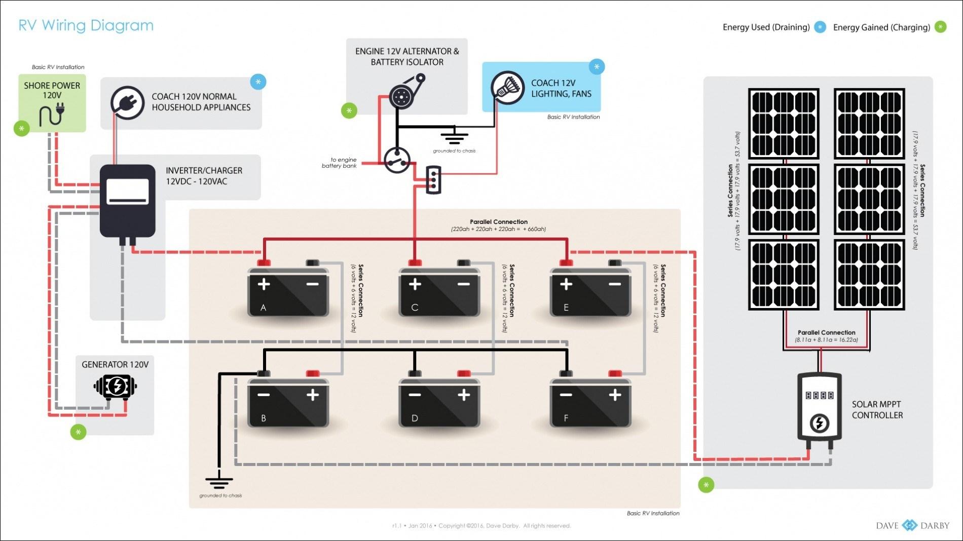 Diagram Solar Wire Diagram File Yy87134 - Rv Solar Wiring Diagram