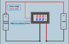 Digital Volt Amp Meter Wiring Diagram
