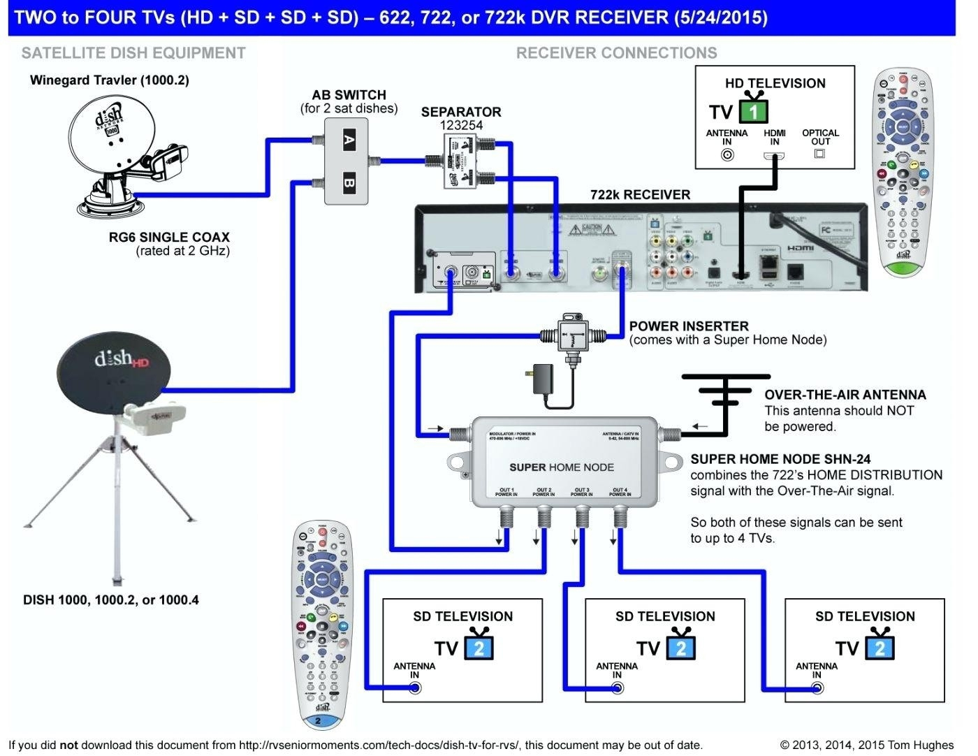 Dish Network Vip722K Wiring Diagram | Manual E-Books - Dish Vip722K Wiring Diagram