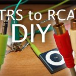 Diy Audio Connector Adapter: 3.5Mm Analog To Red/white (A.k.a. Trs   3.5 Mm To Rca Wiring Diagram