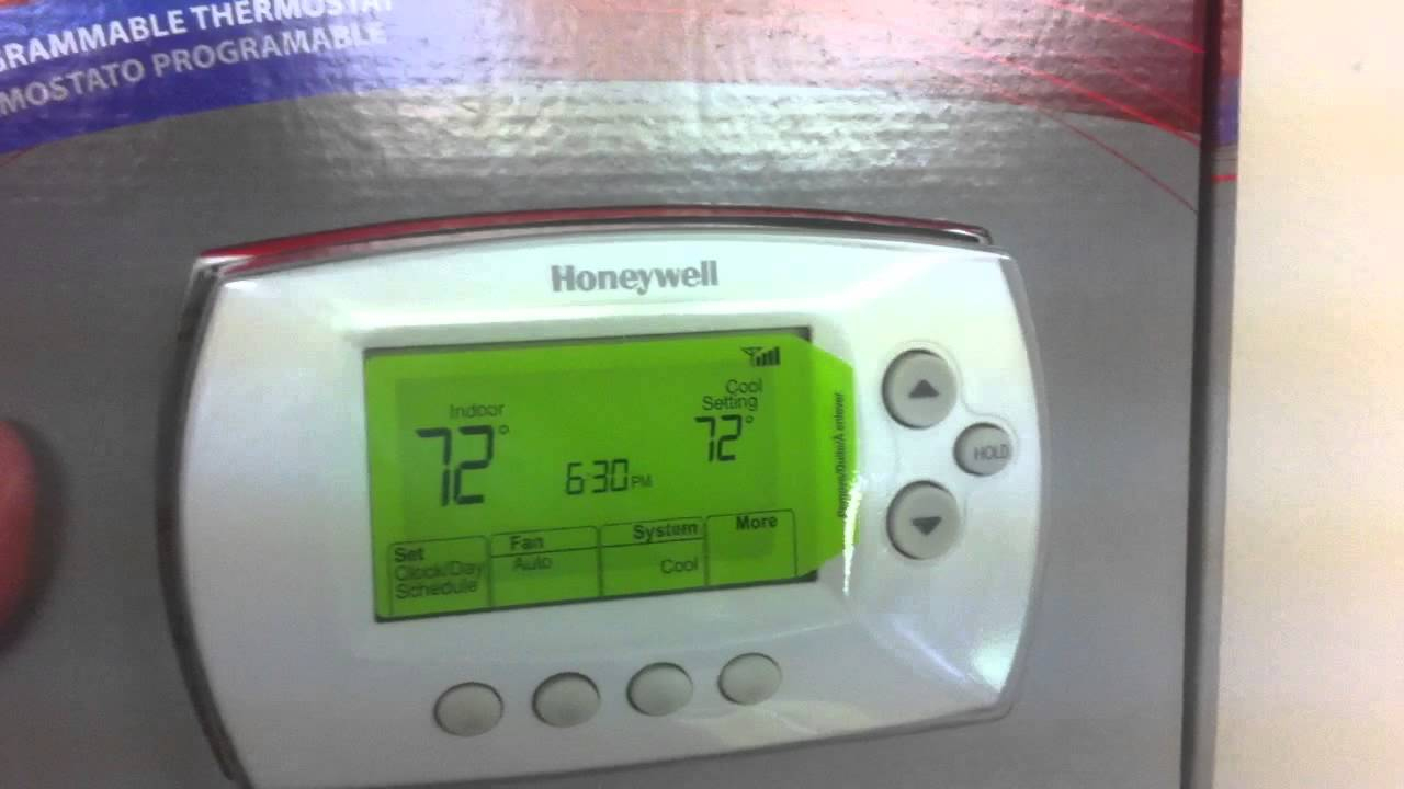 Diy-Honeywell Wi-Fi Thermostat Install - Part 1 - Youtube - Honeywell Wifi Thermostat Wiring Diagram