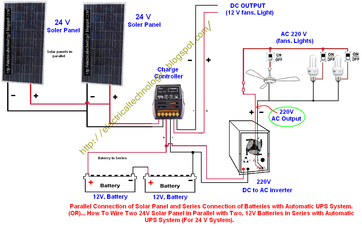 Diy Solar Panel Wiring Diagram To V3 Breaker 001 1024 768 Fair Ups - Solar Panels Wiring Diagram