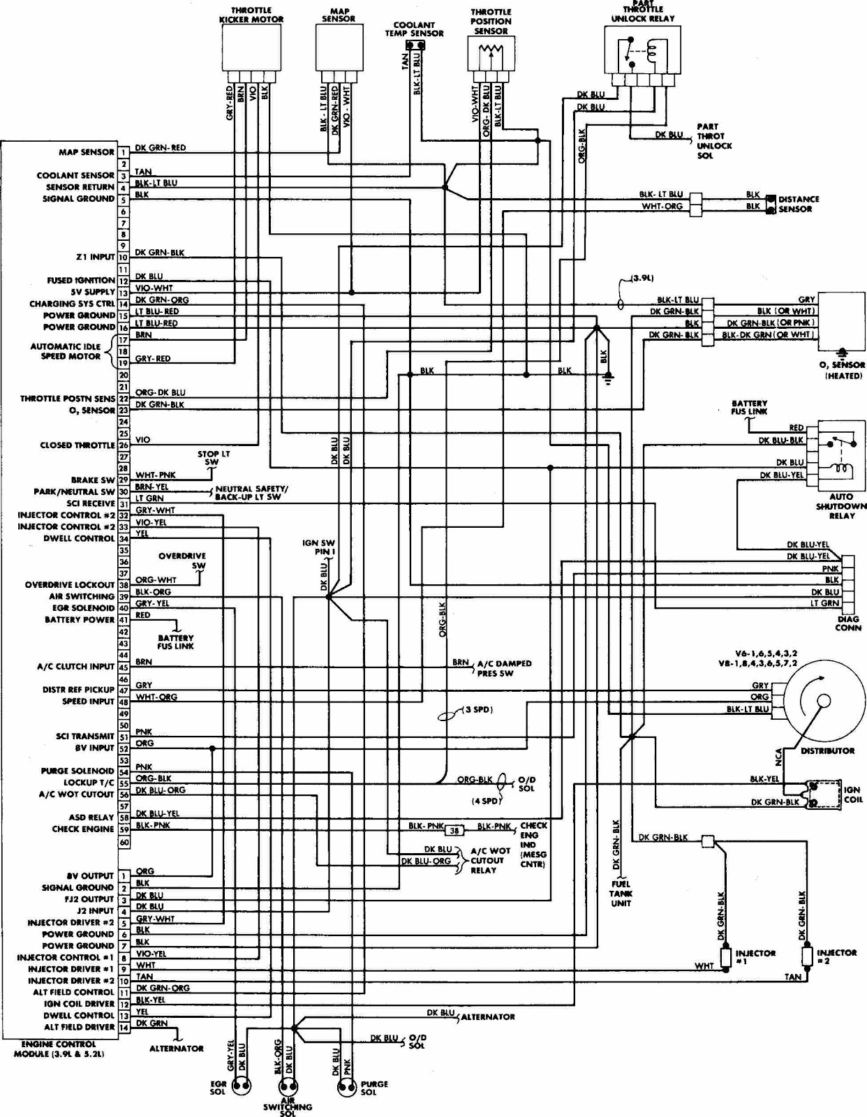 Dodge Rampage Wiring Diagrams | Wiring Diagram - Dodge Ignition Wiring Diagram