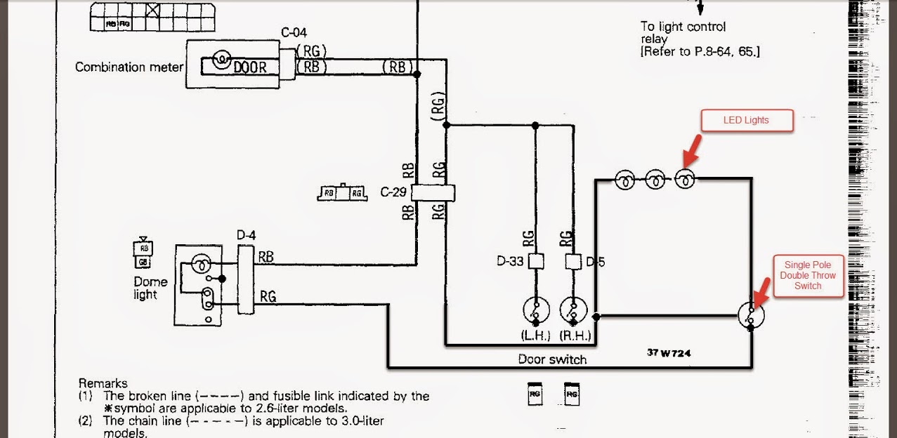 Dome Lights Wiring Diagram | Manual E-Books - Dome Light Wiring Diagram