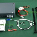 Dometic 3313192.000 White Single Zone Lcd Thermostat Heatcoolfan   Dometic Capacitive Touch Thermostat Wiring Diagram