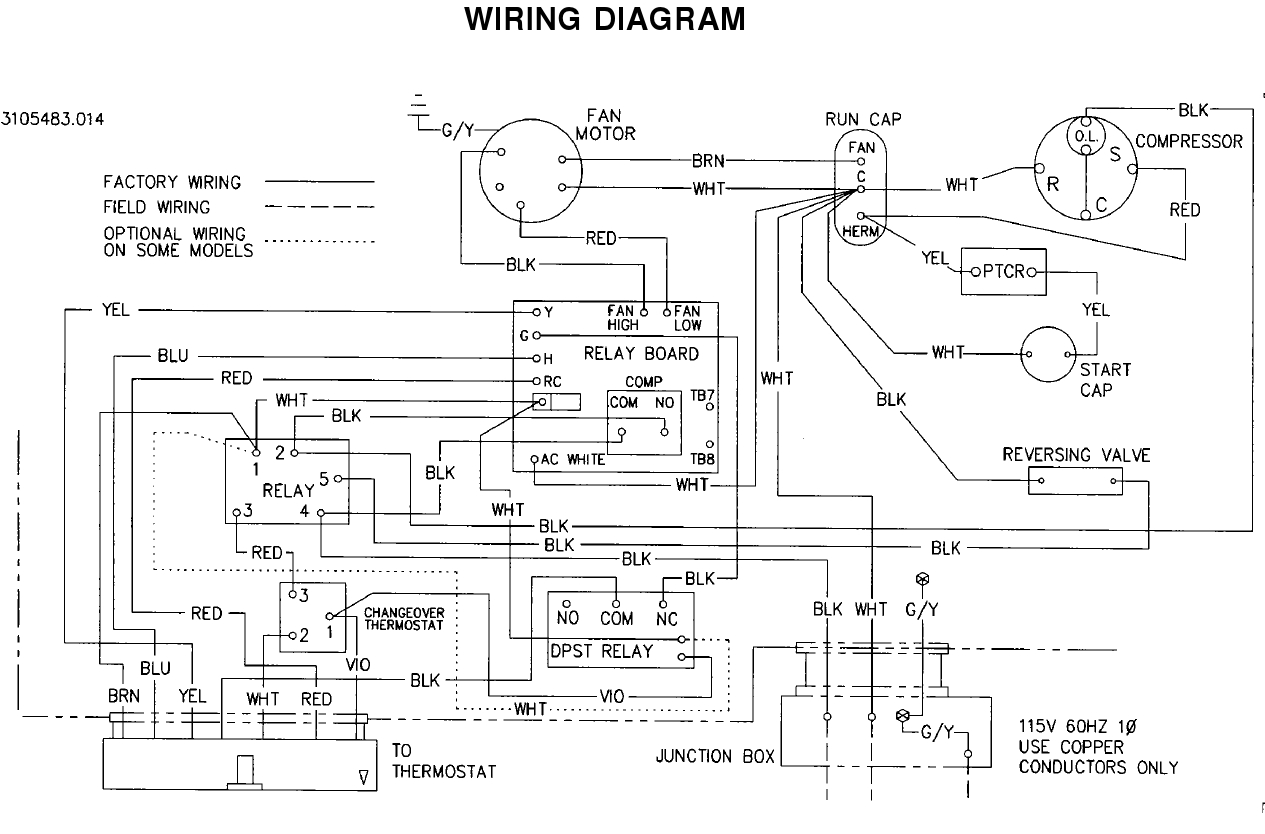 Dometic Hvac Wiring Diagram | Manual E-Books - Duo Therm Thermostat Wiring Diagram