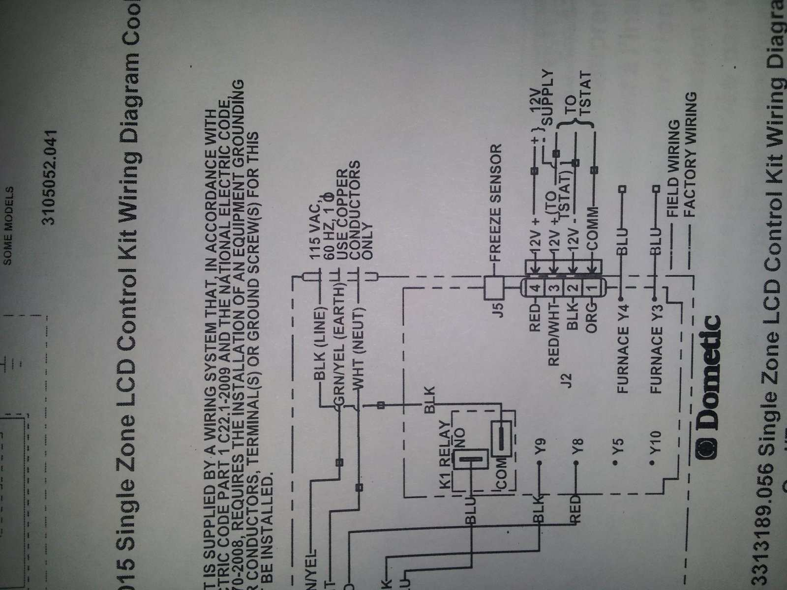 Dometic Lcd Thermostat Wiring Diagram - Trusted Wiring Diagram Online - Dometic Single Zone Lcd Thermostat Wiring Diagram