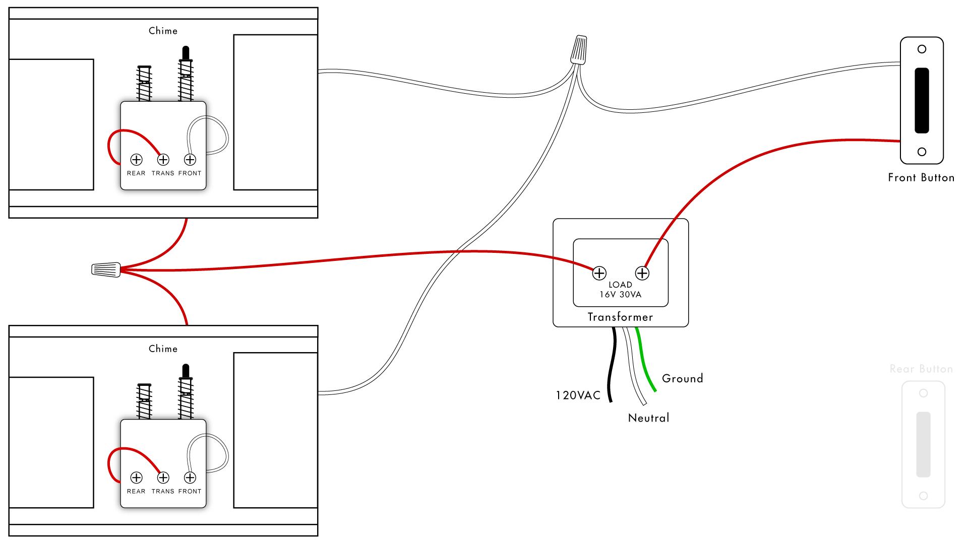 Doorbell Wiring Diagrams | Diy House Help - Doorbell Wiring Diagram Tutorial