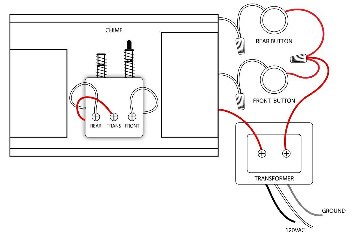 Doorbell Wiring Diagrams | Doorbell | Home Electrical Wiring, House - Doorbell Wiring Diagram Tutorial
