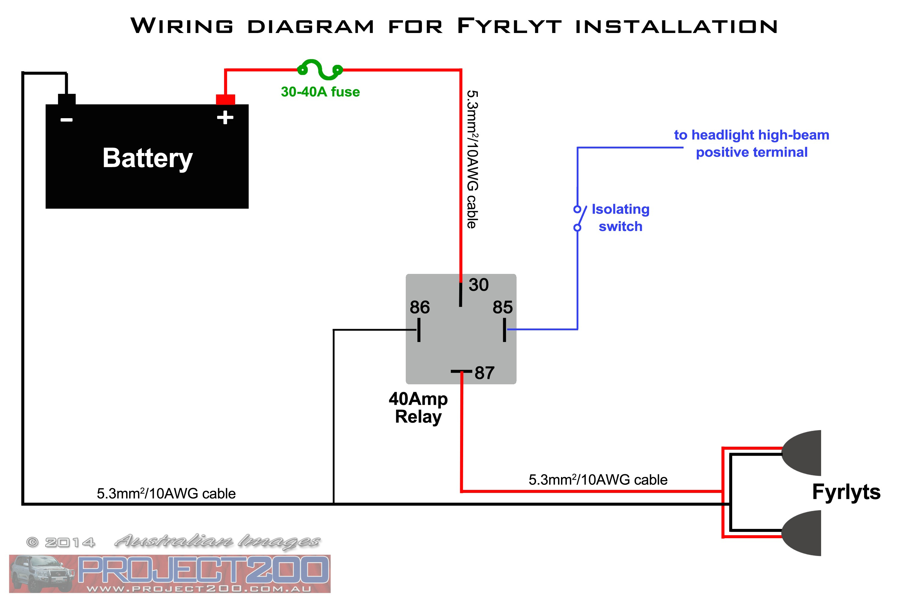Driving Light Wiring Diagram | Wiring Library - 5 Pin Relay Wiring Diagram Driving Lights