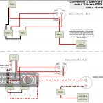 Dual Battery Setup, Starter Battery Isolated, Installing Voltmeter   Boat Dual Battery Wiring Diagram