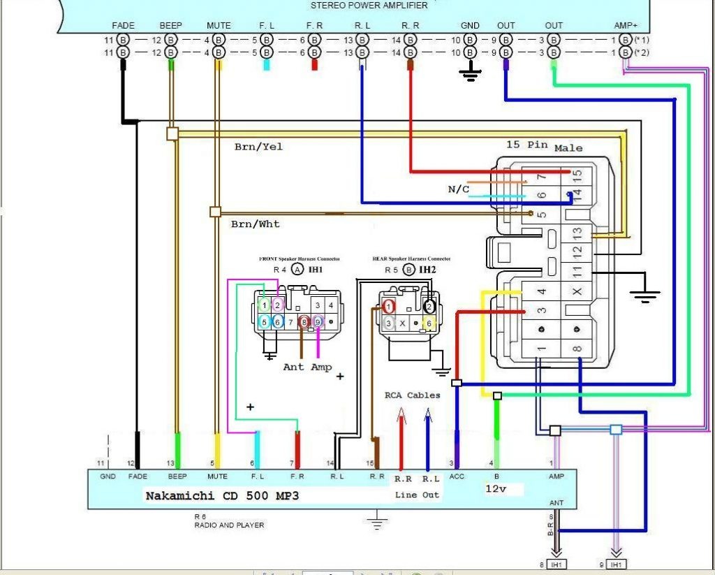 Dual Car Audio Wiring Harness Diagram Stereo 15 3 | Hastalavista - Jvc Radio Wiring Diagram