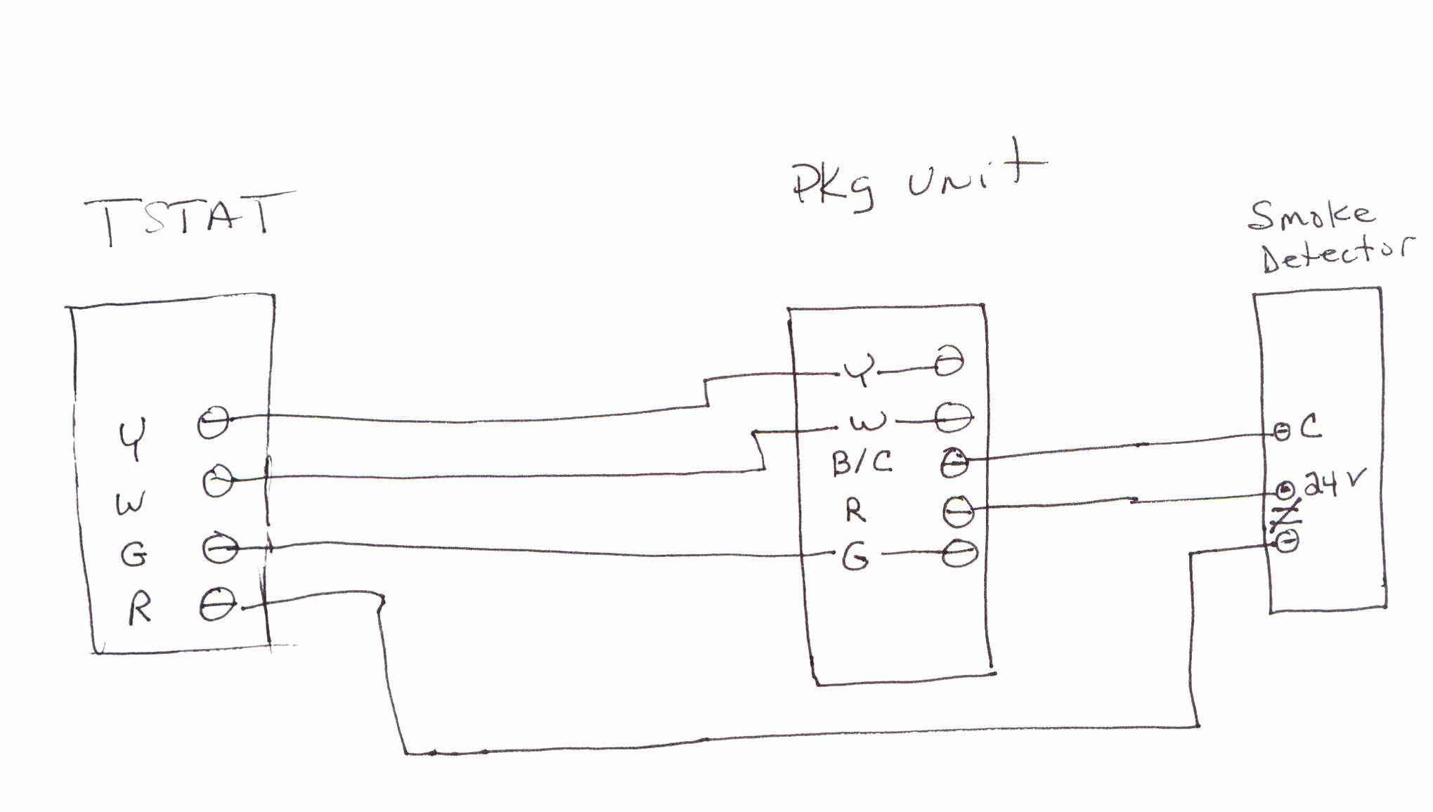 Duct Smoke Detector Wiring Diagram | Manual E-Books - Duct Smoke Detector Wiring Diagram