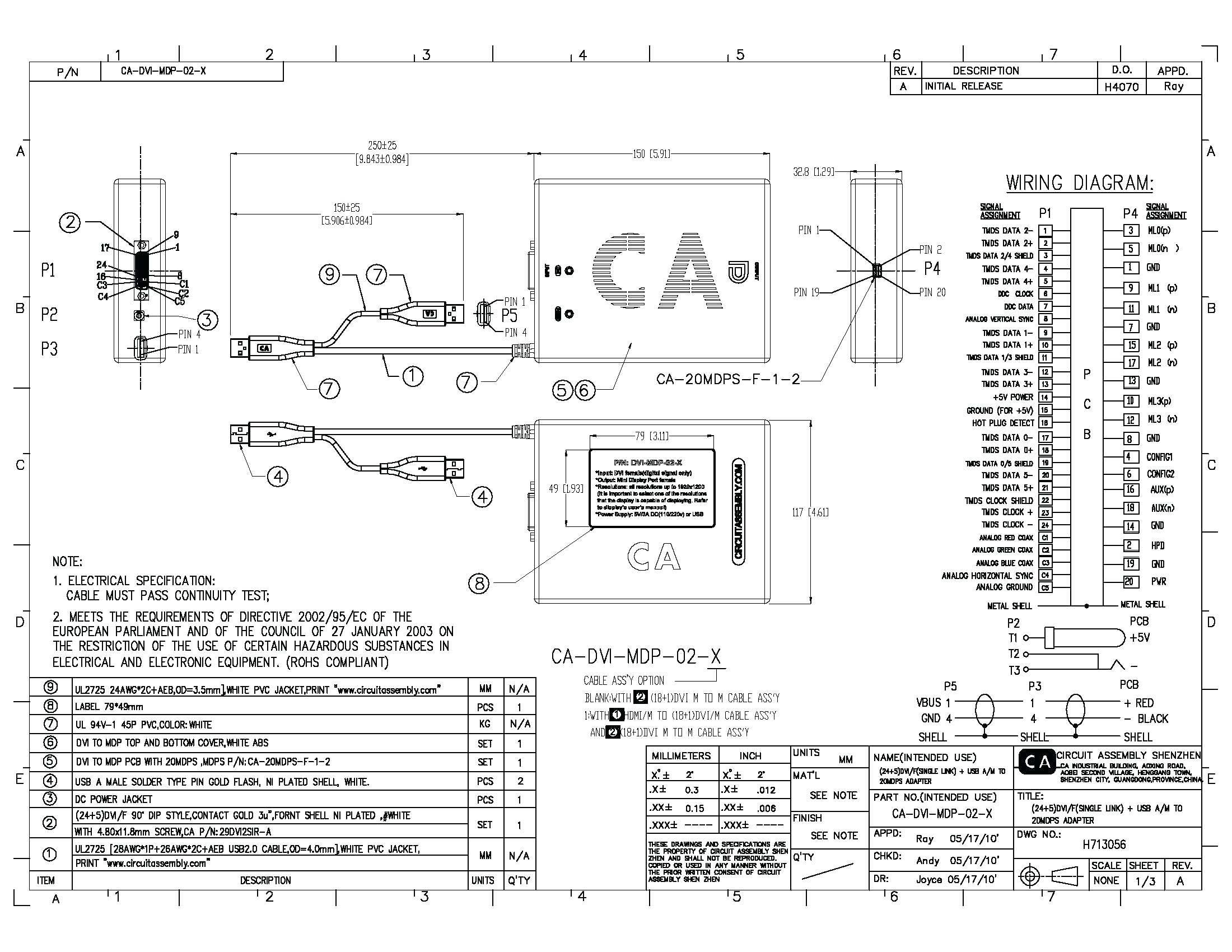 Dvi Wiring Diagram | Wiring Diagram - Vga Wiring Diagram