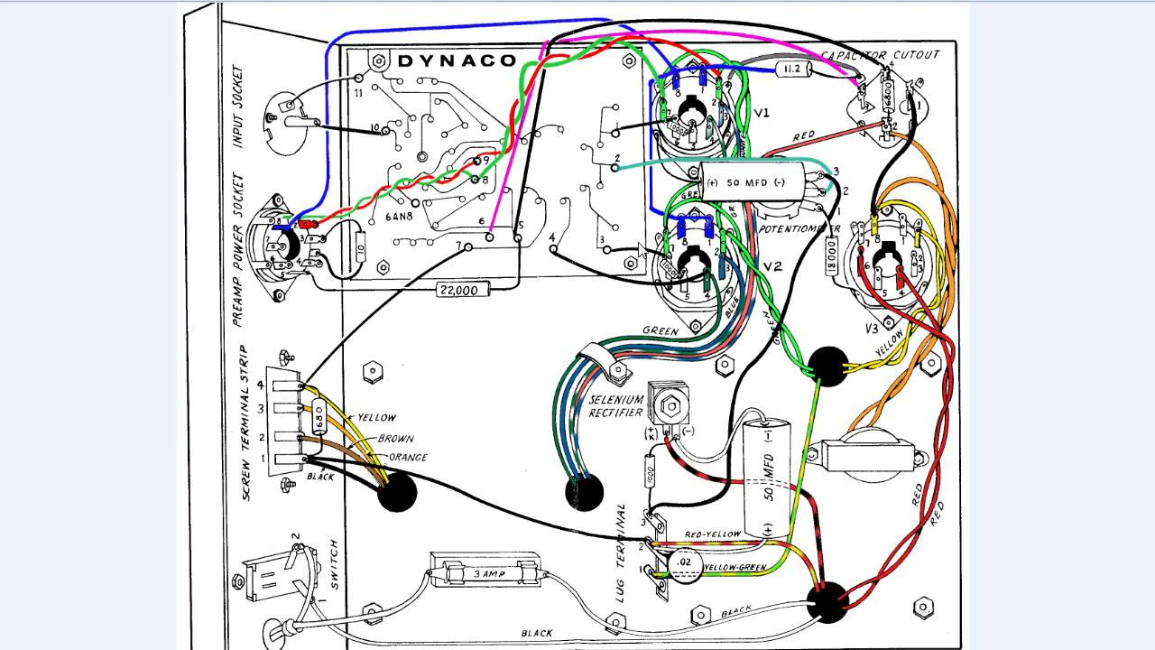 Dynaco Dynakit Amplifier Part 3 - Mkiii Vaccum Tube Amplifier Wiring - Amp Wiring Diagram