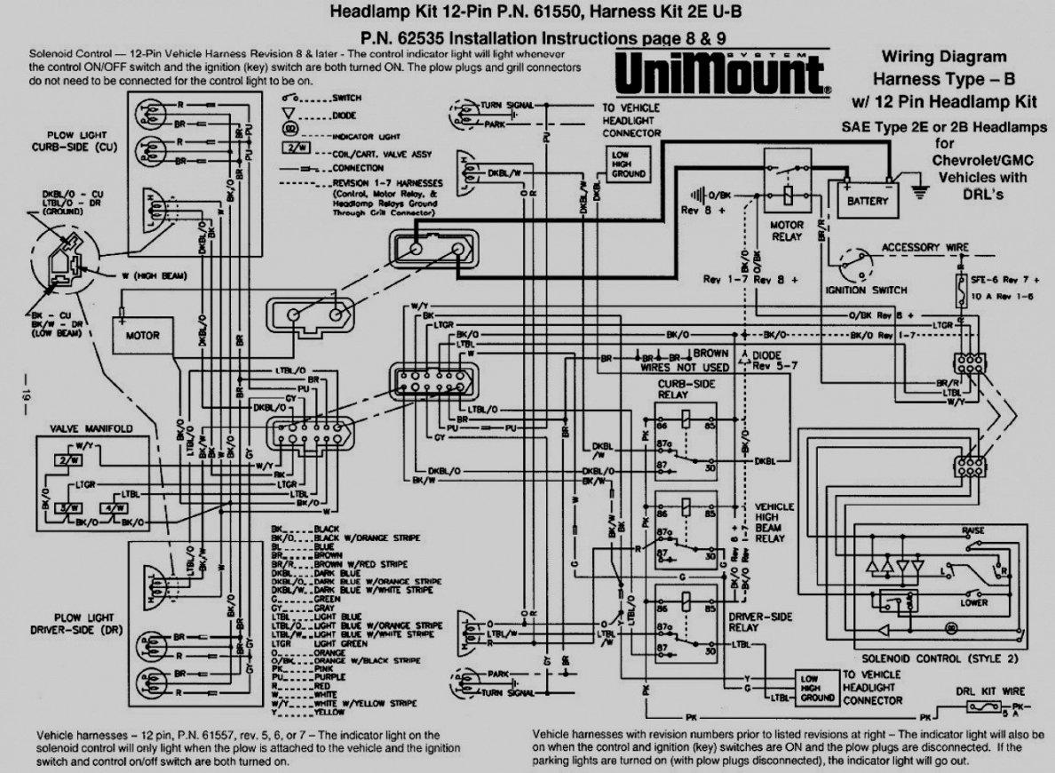 E47 Wiring Diagram - Wiring Diagrams Hubs - Meyer Plow Wiring Diagram