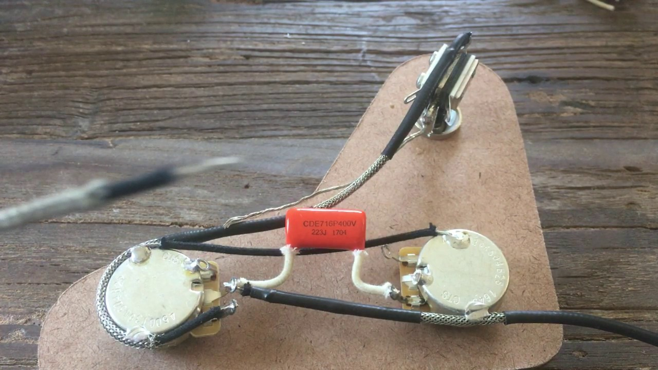 Easy Install Drop-In Upgraded Prs Se 50S Style Wiring Harness - Youtube - Prs Wiring Diagram