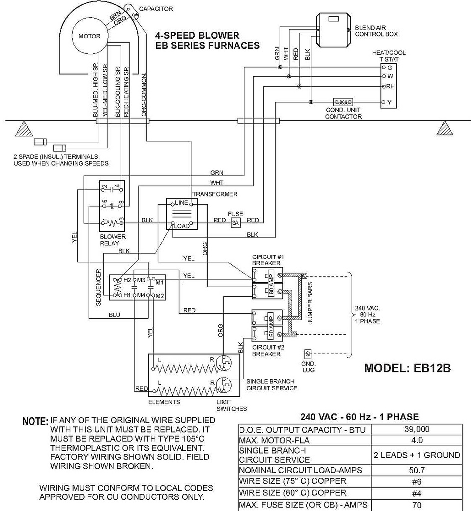 Eb15B Instalation Instructions Coleman, Air Handler, Eb15B… | Flickr - Air Handler Wiring Diagram