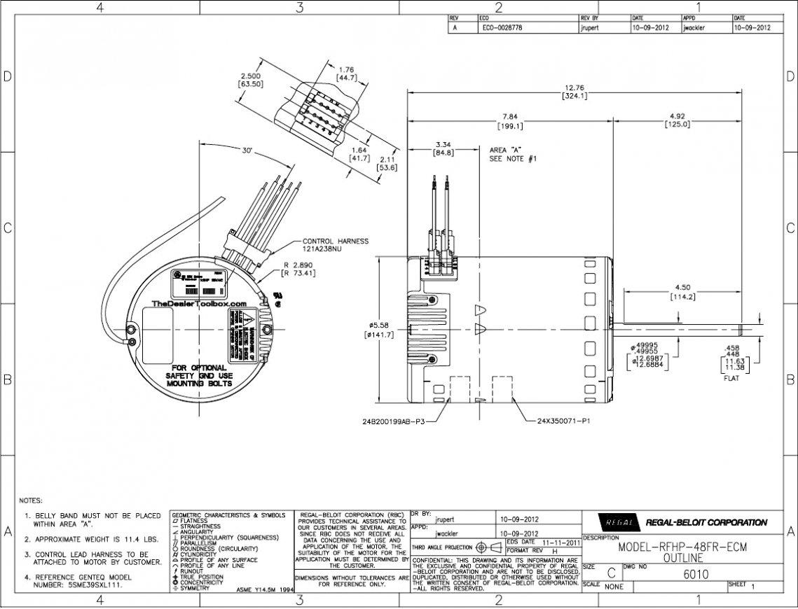 Ecm Motor Wiring Diagram For Hvac | Wiring Diagram - Genteq Motor Wiring Diagram