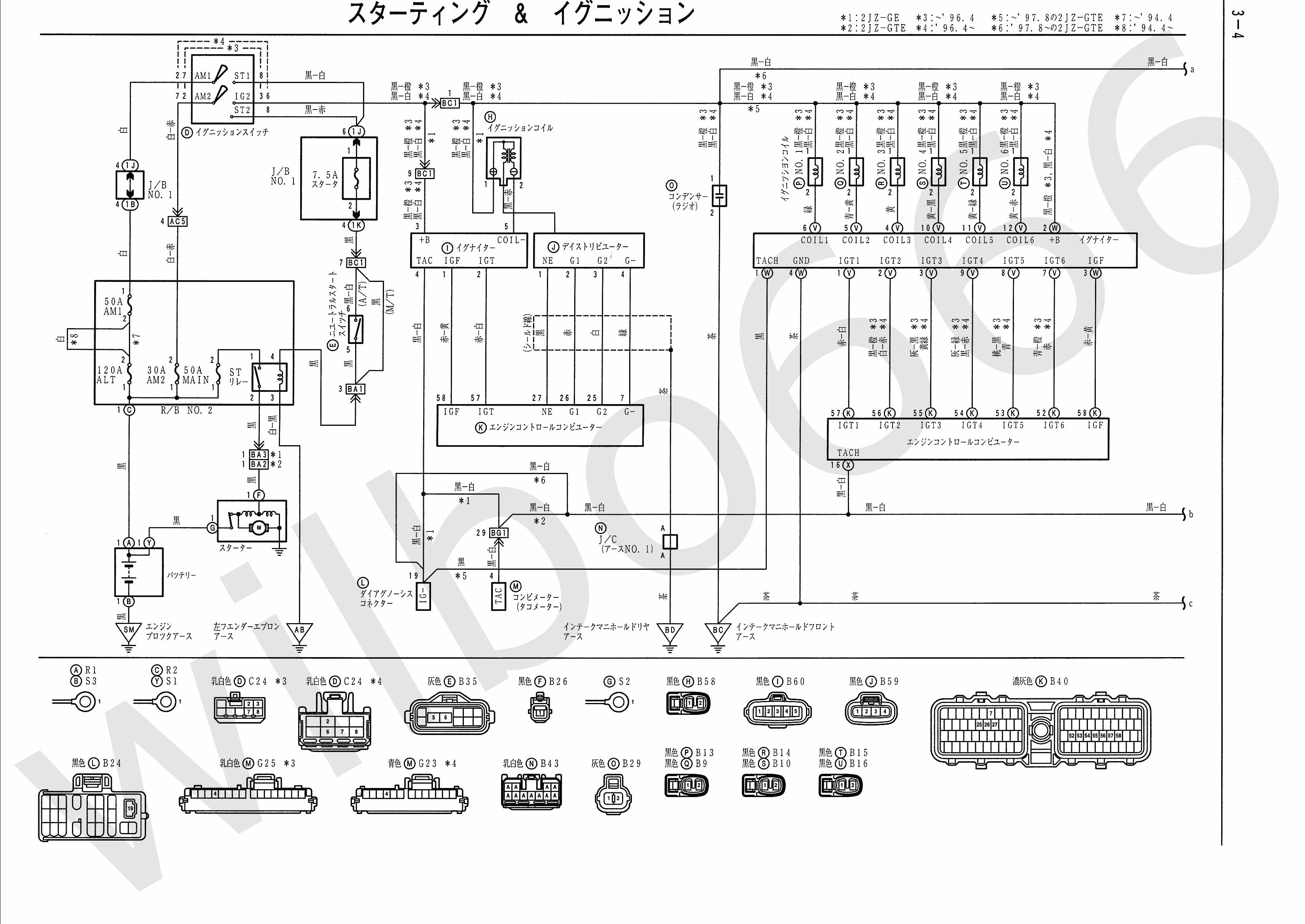 Ecu Schematics | Wiring Diagram - Toyota Igniter Wiring Diagram