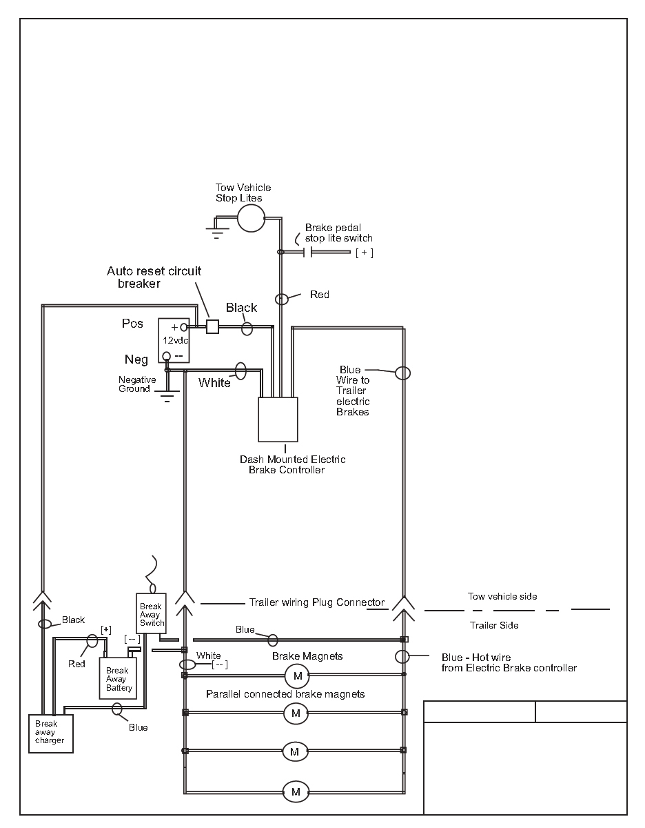 Electric Brake Control Wiring - Trailer Battery Wiring Diagram