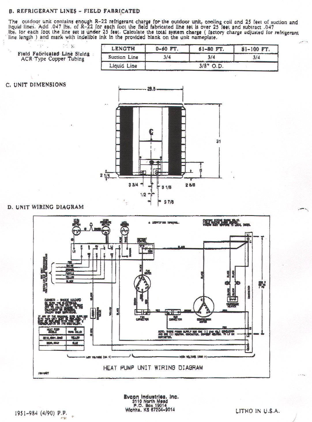 Electric Heat Pump Wiring Diagram | Wiring Diagram - Heat Pump Wiring Diagram Schematic