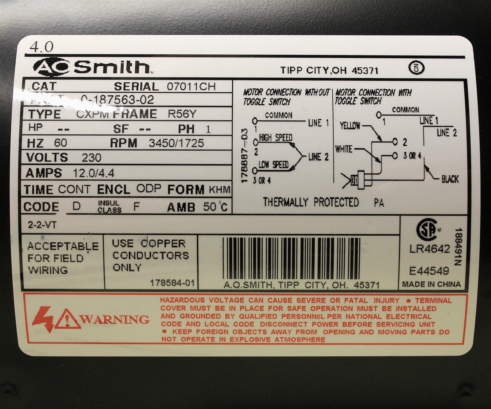 Electric Motor Wiring Diagram 110 To 220 New Dorable Leeson Electric - Electric Motor Wiring Diagram 220 To 110