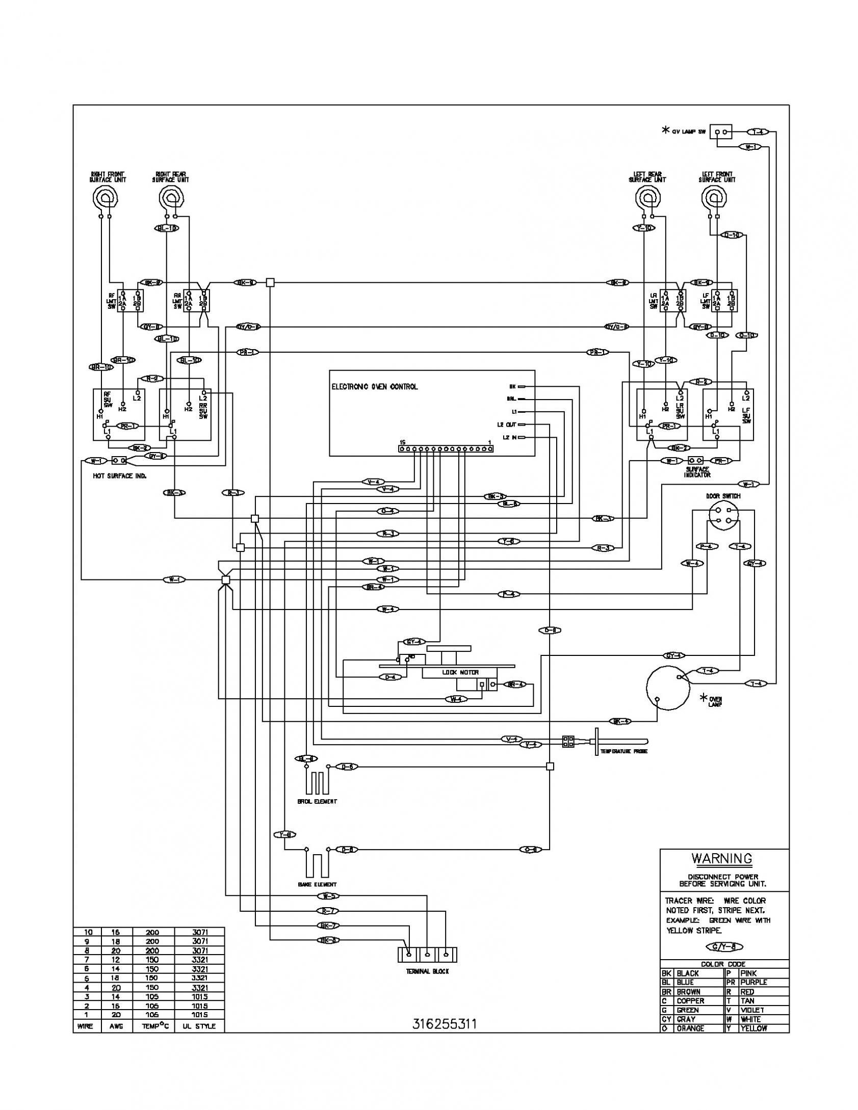 Electric Stove Wiring Diagram — Daytonva150 - Electric Stove Wiring Diagram