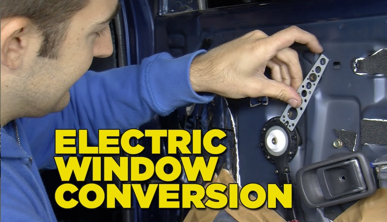 Electric Window Conversion - Youtube - Power Window Wiring Diagram