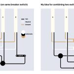 Electrical   Combine/merge 2 Light Switches Into 1   Home   3 Way Light Switch Wiring Diagram Multiple Lights