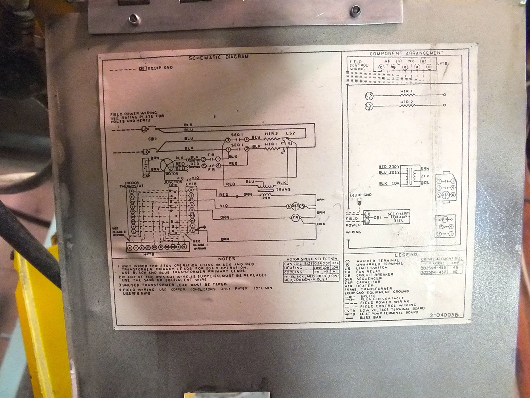 10 Kw Williams Wall Furnace Wiring Diagram
