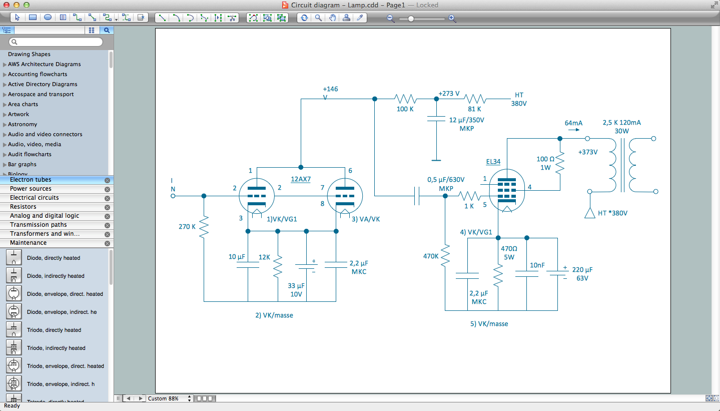 Electrical Drawing Software - Wiring Diagram Software