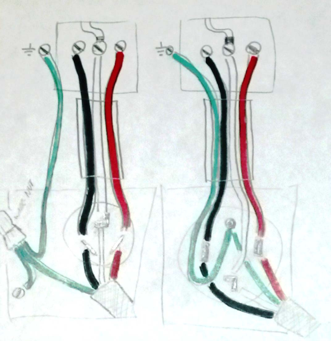 Electrical - Is It Safe To Install A Three Pronged Cable Into A Four - 4 Prong Dryer Outlet Wiring Diagram