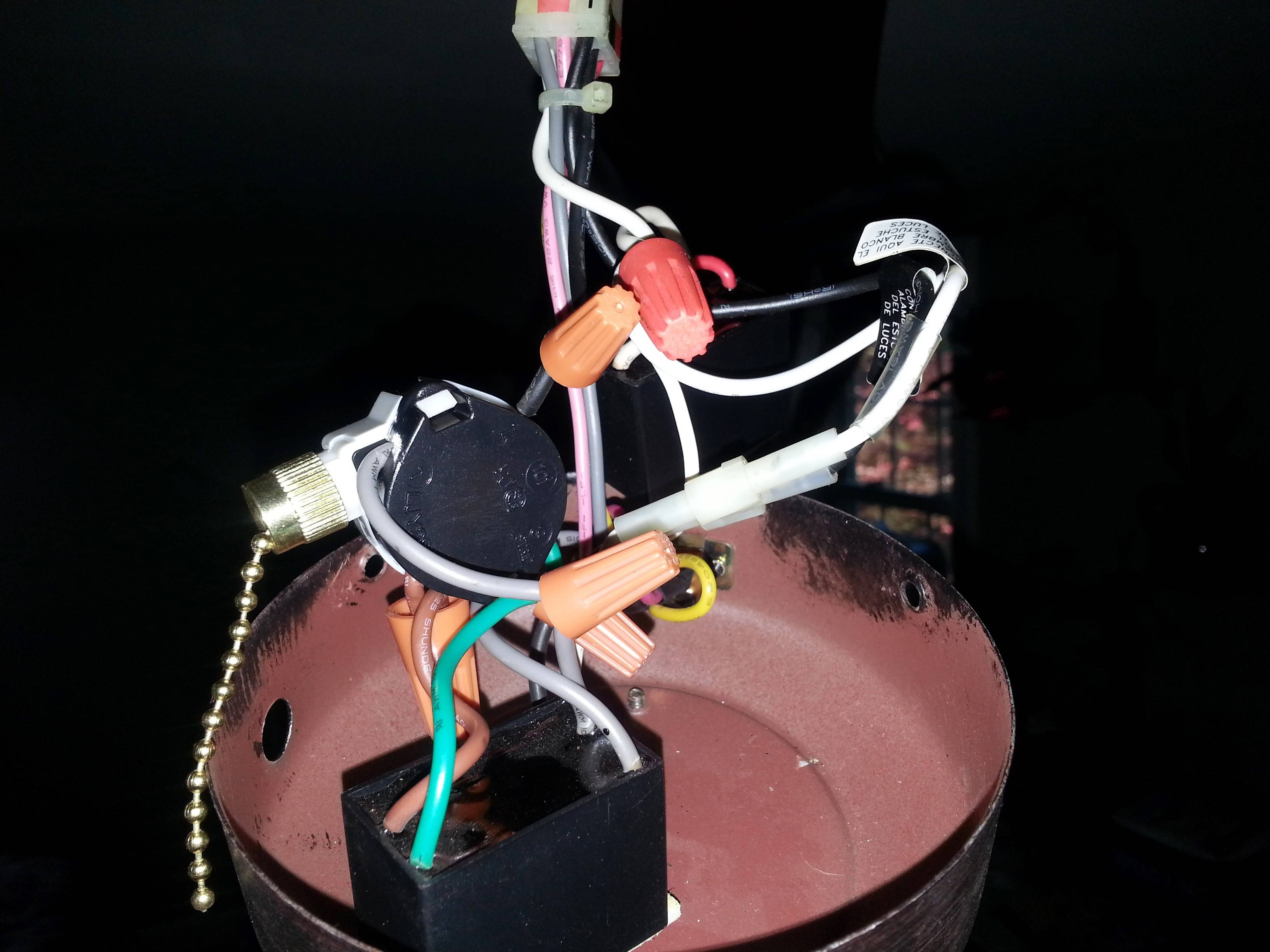 Electrical - Is There A Way To Diagnose Ceiling Fan 3 Speed Switch - Hunter 3 Speed Fan Switch Wiring Diagram